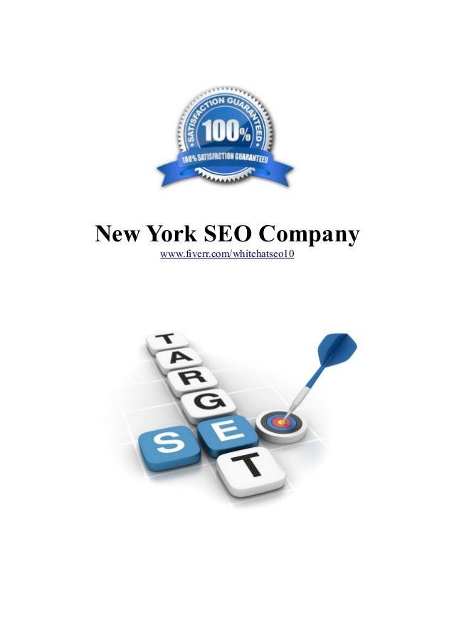 New York SEO Company www.fiverr.com/whitehatseo10
