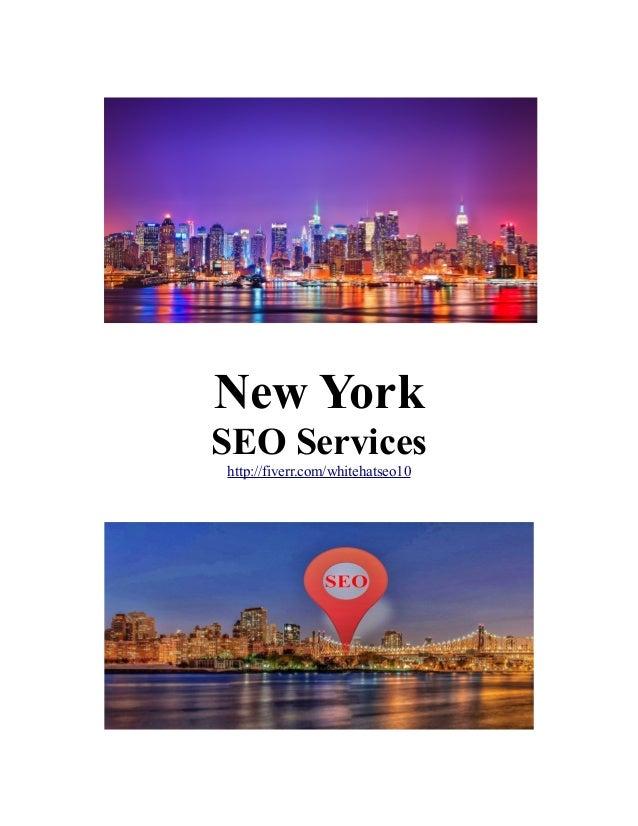 New York SEO Services http://fiverr.com/whitehatseo10