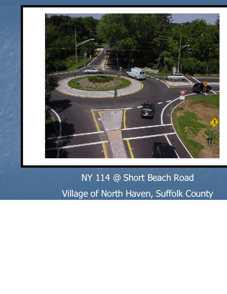 New York State Roundabouts