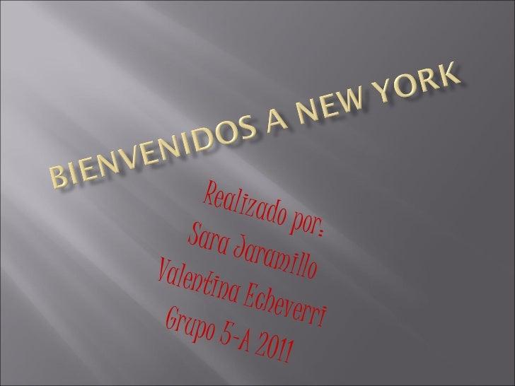 Realizado por: Sara Jaramillo Valentina Echeverri Grupo 5-A 2011