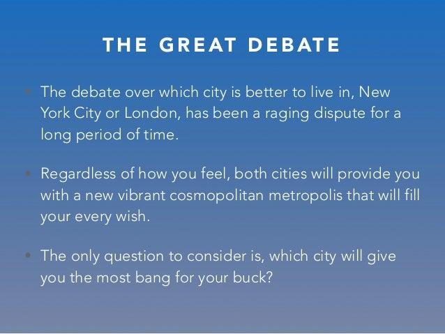 New York vs. London by Sarang Abuja Slide 3
