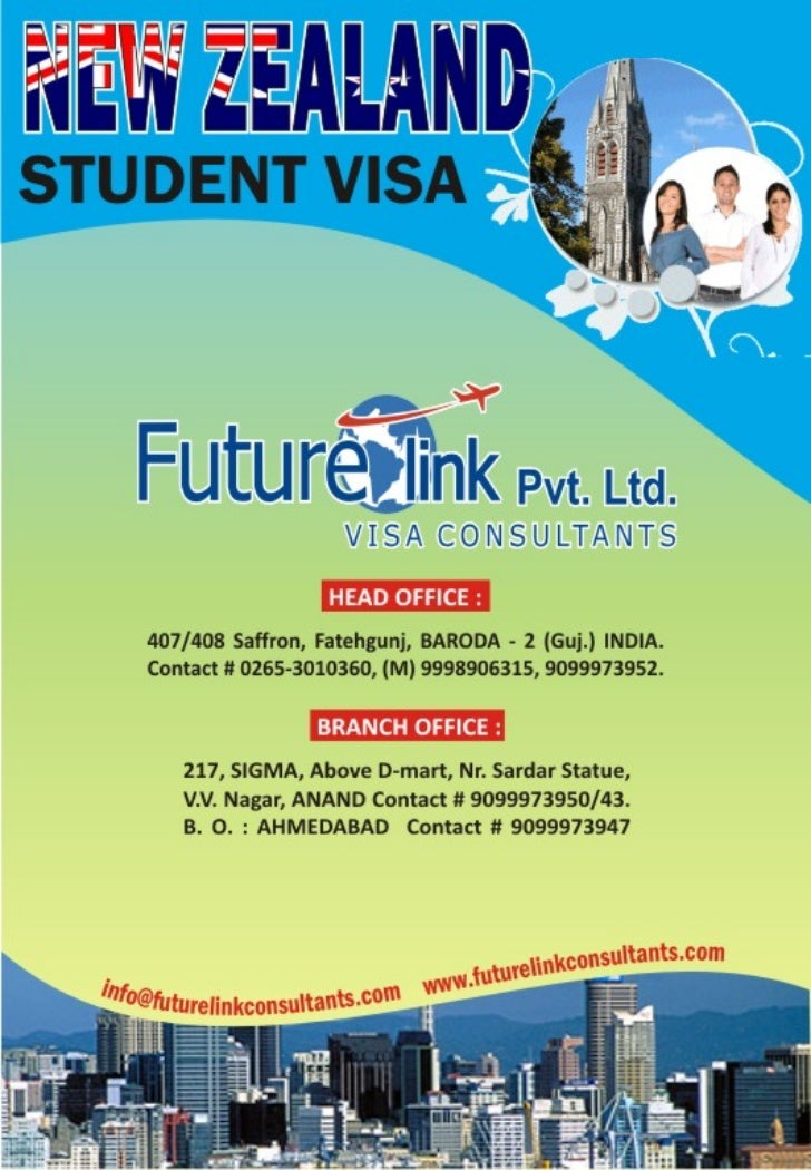 Futurelink Visa Consultants Pvt. Ltd. Study, Work & Settle In New Zealand