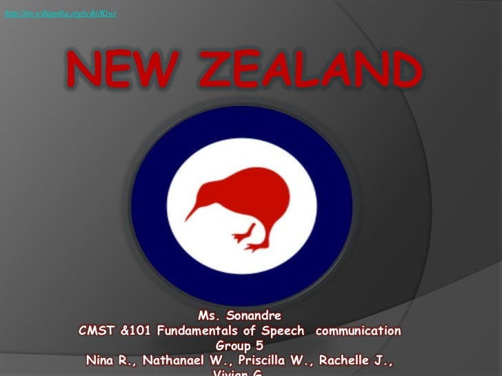 http://en.wikipedia.org/wiki/Kiwi                  NEW ZEALAND                                       Ms. Sonandre         ...
