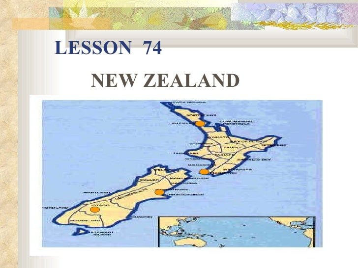 LESSON 74   NEW ZEALAND