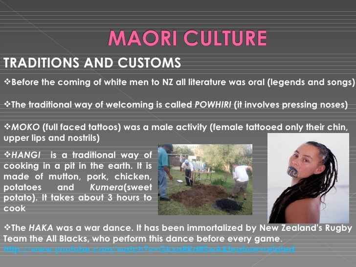 New Zealand Cultural Traditions: New Zealand