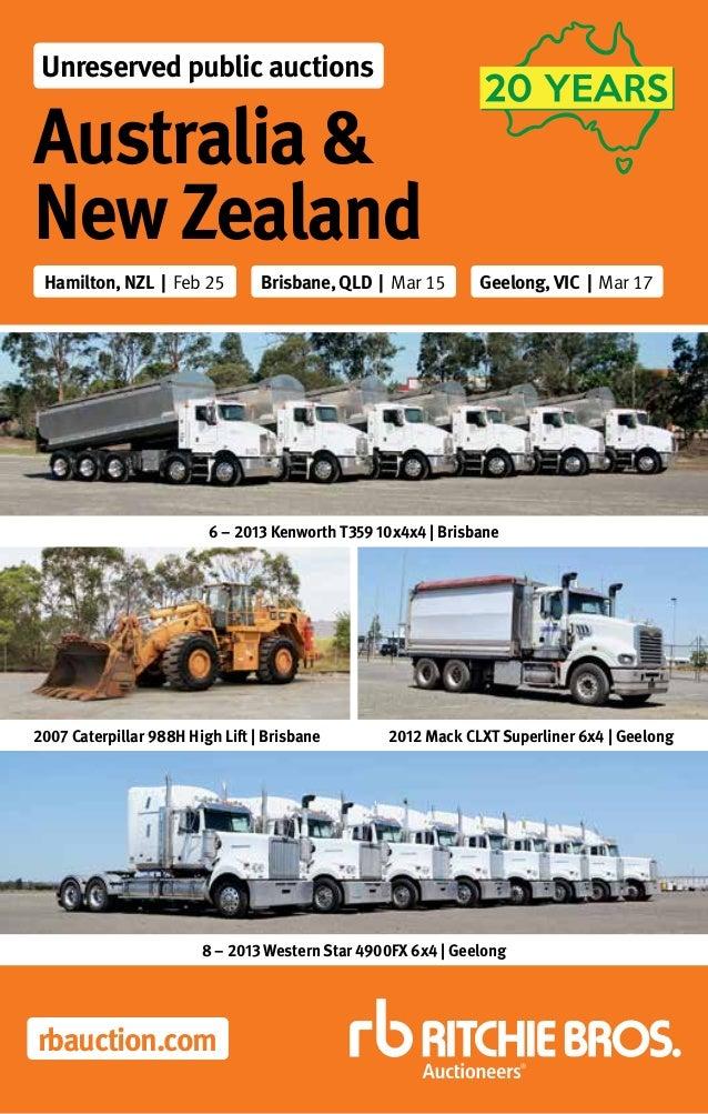3afb14e9a9666f New Zealand   Australian Unreserved Public Sale 2016