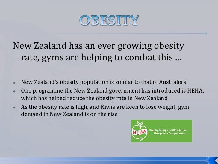 Nz fitness industry