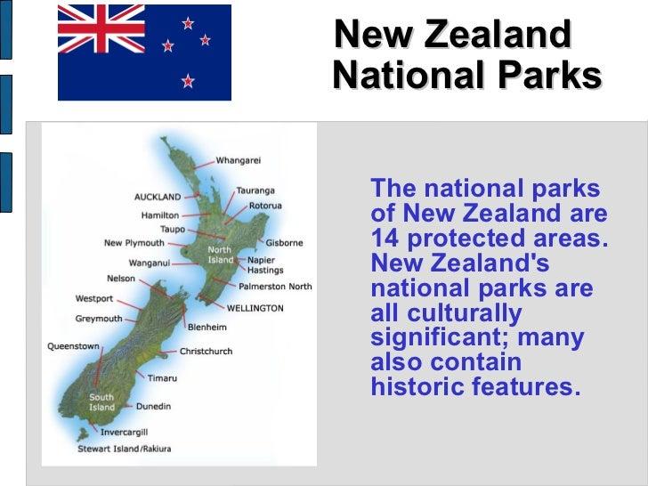 New Zealand National Parks <ul><li>The national parks of New Zealand are 14 protected areas .  New Zealand's national park...
