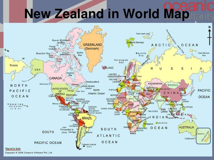 Show Map Of New Zealand London Map - Show me world map
