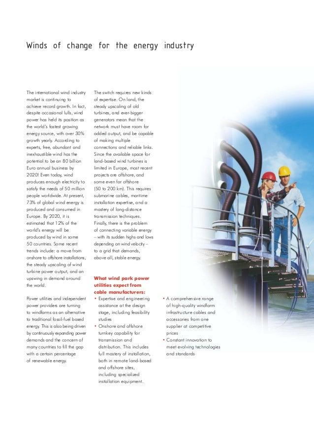 Nexans Lv Hv Wind Farm Cables Catalogue