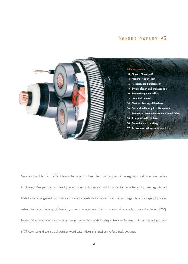 Nexans Submarine Technology 1