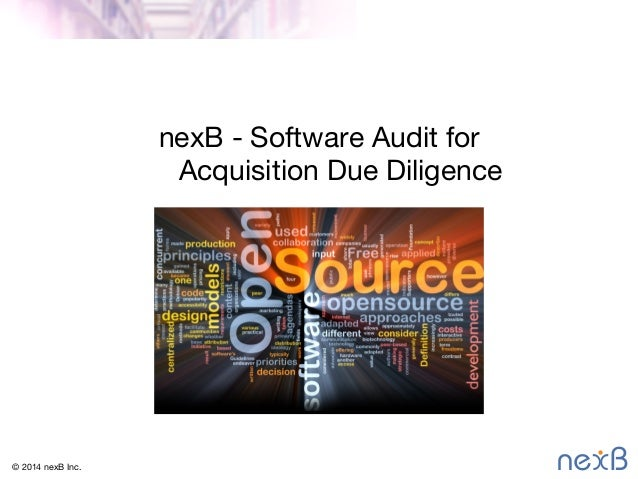nexB - Software Audit for 