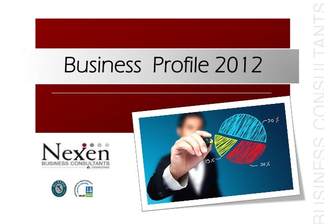 Business Profile 2012
