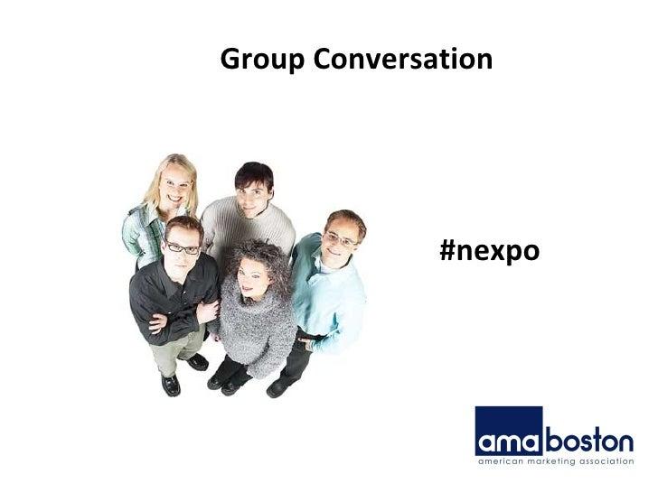 Group Conversation #nexpo