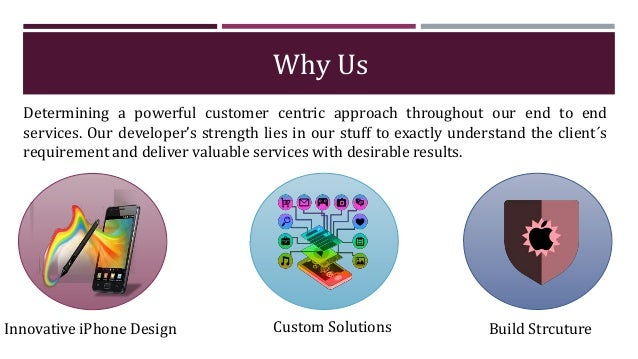 Why Us Determining a powerful customer centric approach throughout our end to end services. Our developer's strength lies ...