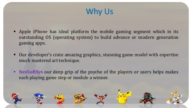 NexSoftSys is largest iphone game development companies in India Slide 2