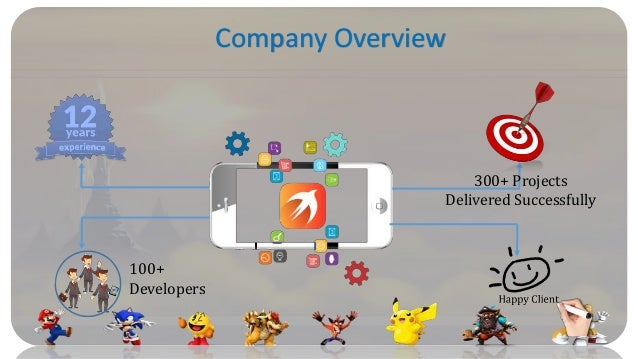 NexSoftSys is largest iphone game development companies in India Slide 3
