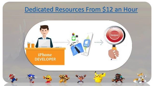 Dedicated Resources From $12 an Hour