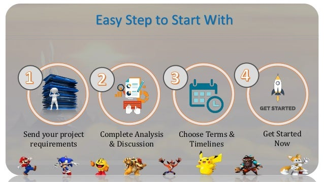 Easy Step to Start With Send your project requirements Complete Analysis & Discussion Choose Terms & Timelines Get Started...