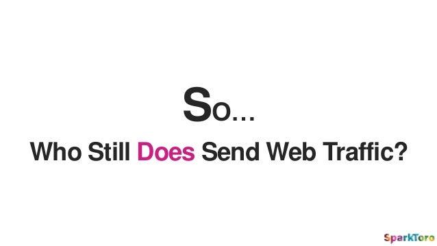 SO… Who Still Does Send Web Traffic?