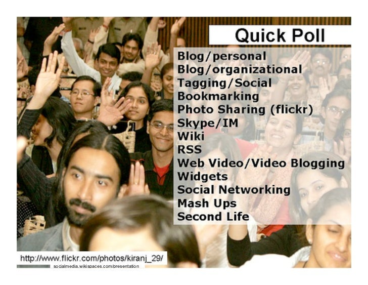 socialmedia.wikispaces.com/presentation
