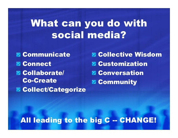 Communicate Blogs Podcasts Video Blogging Video Sharing Photo Sharing