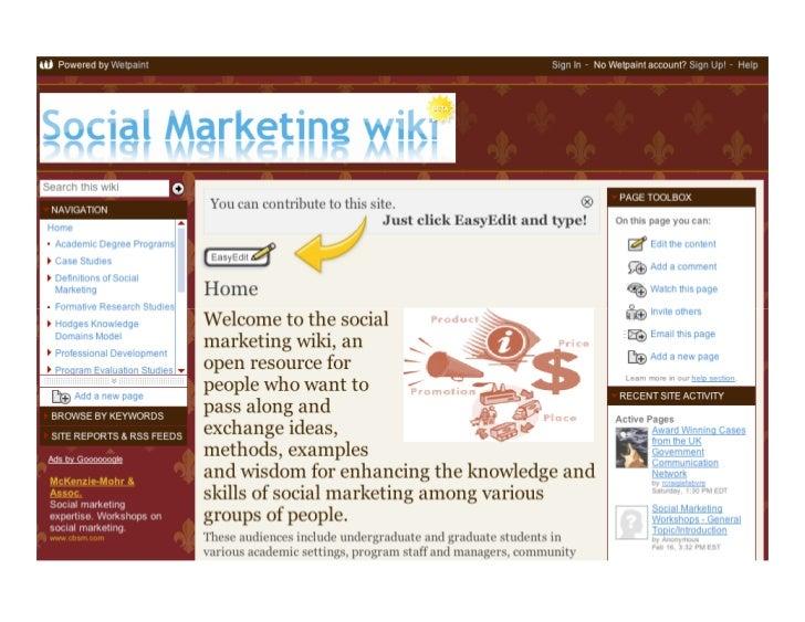 Next Generation Social Marketing