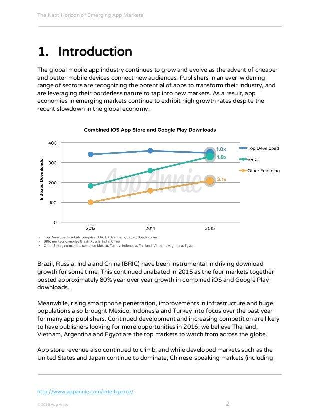 The Next Horizon of Emerging App Markets Slide 3