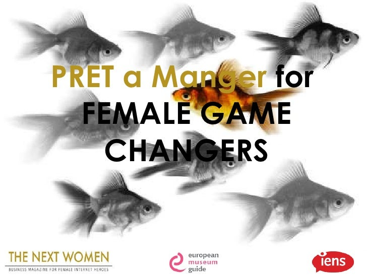 PRET a Manger  for  FEMALE GAME CHANGERS