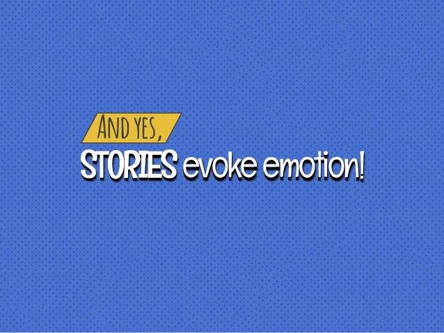 Andyes, STORIESevokeemotion!