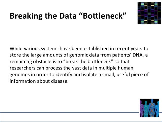 """Breaking  the  Data  """"Bo5leneck""""  While  various  systems  have  been  established  in  recent  years  to  store  the  lar..."""