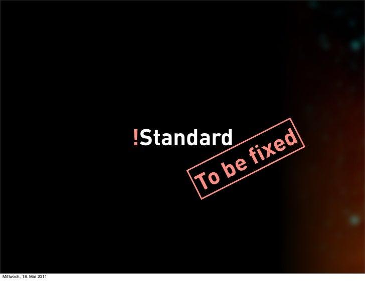 !Standard        ed                                      f ix                                  b e                        ...