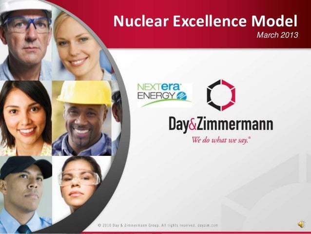 Nuclear Excellence Model March 2013