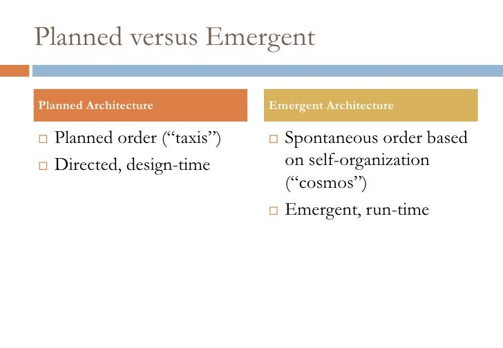 planned versus emergent change On strategies deliberate and emergent: a corporate startup approach  the pace of change in the current  whether strategy can be deliberate versus emergent.