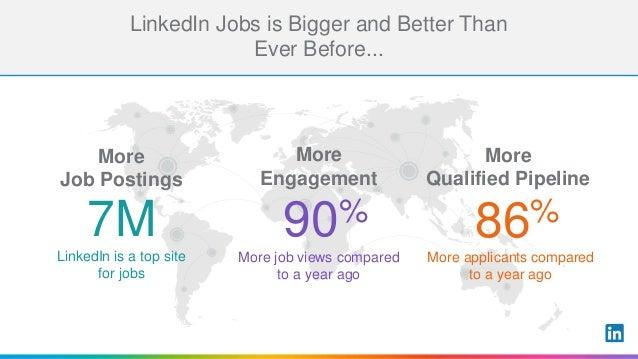 New LinkedIn Jobs Experience [webcast]