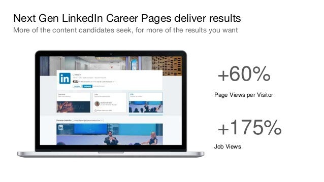 Next Generation LinkedIn Career Page