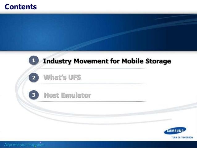 Q4.11: Next Gen Mobile Storage – UFS Slide 2