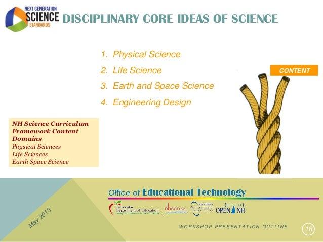 NH and Next Generation Science - May 2013