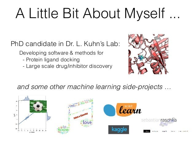 An Introduction to Supervised Machine Learning and Pattern Classification: The Big Picture Slide 2