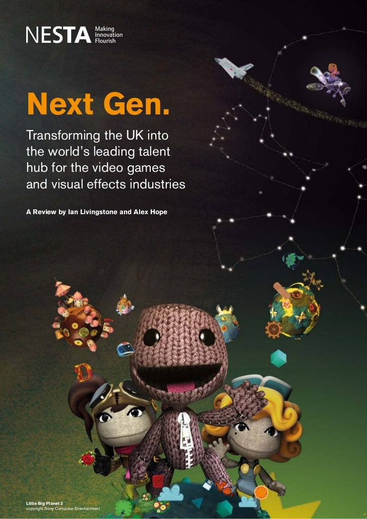 Next Gen: Transforming the UK into the world's leading talent hub for the video games and visual effects industries   1Nex...
