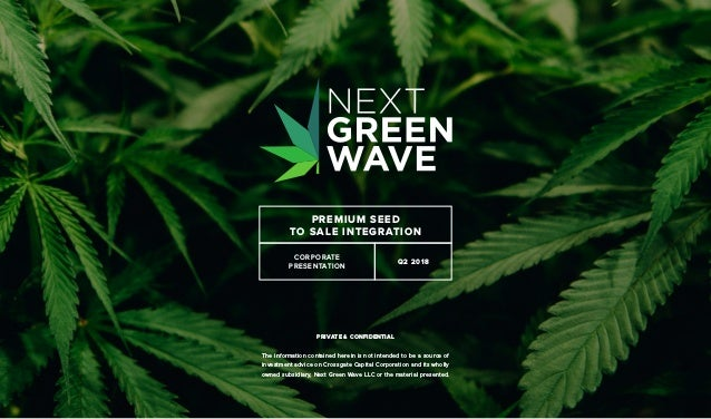 Next Green Wave Corporate Presentation
