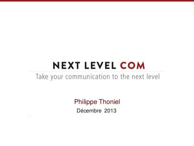 Philippe Thoniel Décembre 2013