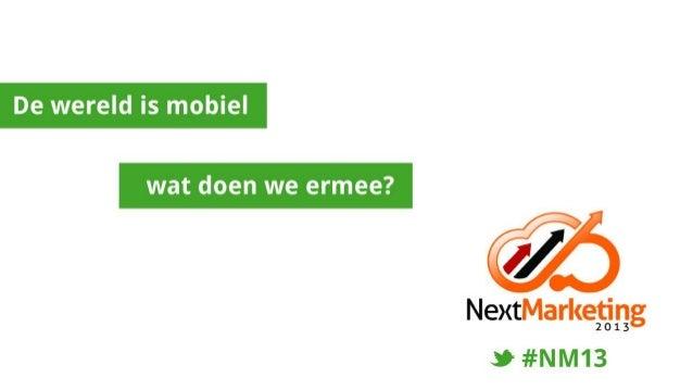 Mobile Marketing - mobiele ontwikkelingen en oplossingen