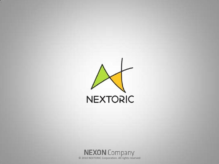 © 2010 NEXTORIC Corporation. All rights reserved <br />