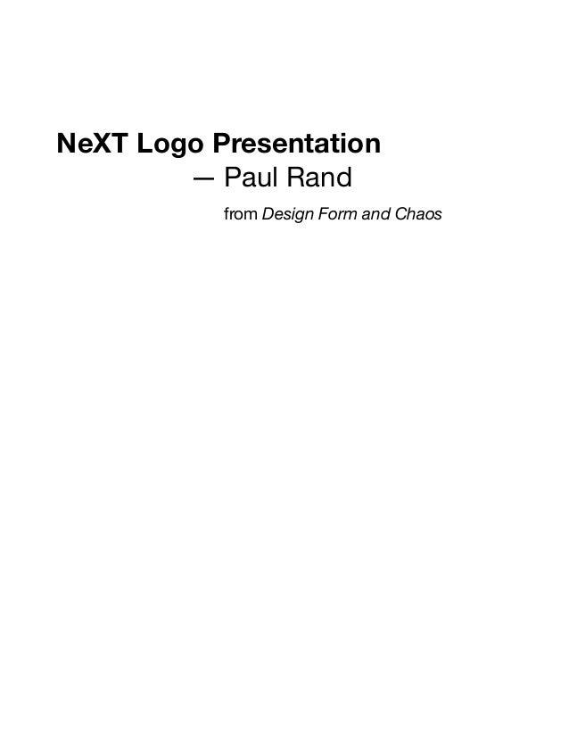 next logo presentationpaul rand to steve jobs, Powerpoint templates