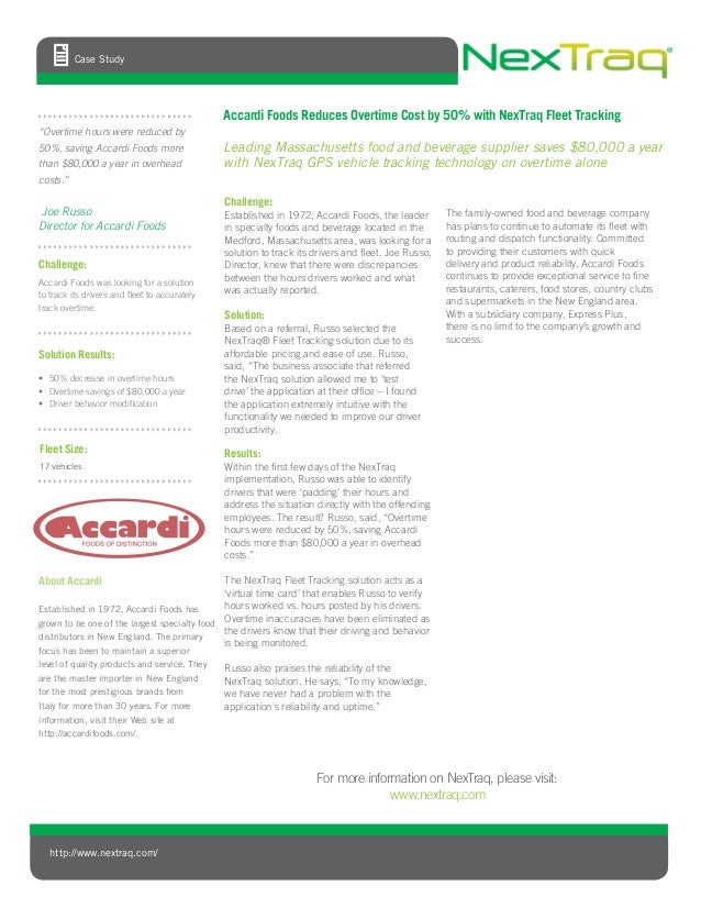 Challenge:Established in 1972, Accardi Foods, the leaderin specialty foods and beverage located in theMedford, Massachuset...