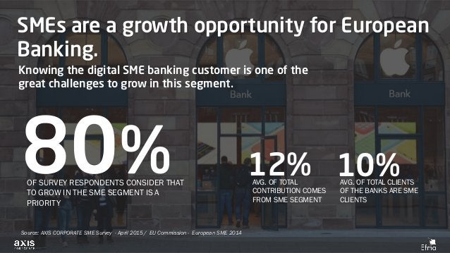 SMEs are a growth opportunity for European Banking. Knowing the digital SME banking customer is one of the great challenge...