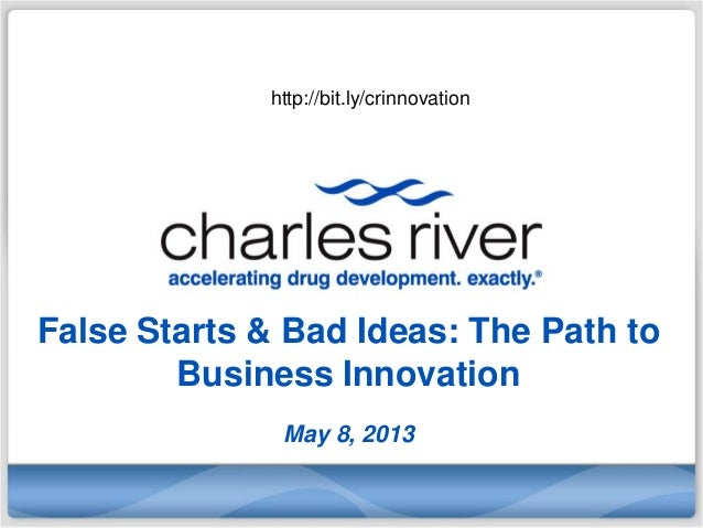 False Starts & Bad Ideas: The Path toBusiness InnovationMay 8, 2013http://bit.ly/crinnovation