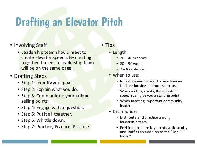 Elevator Pitch Contest