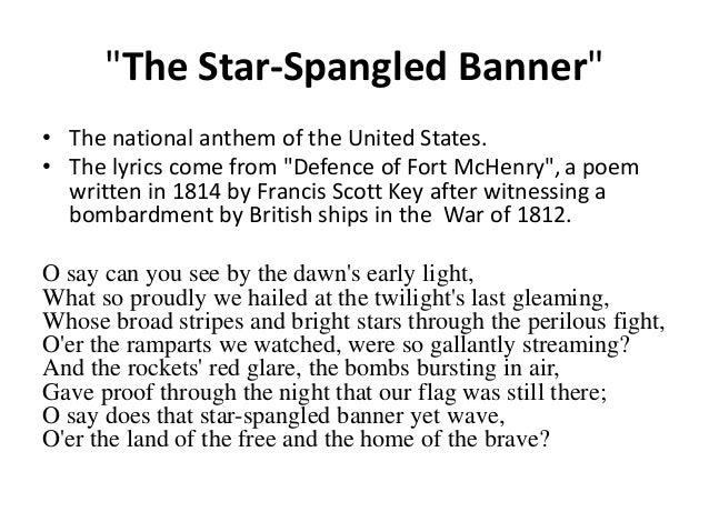 USA National Anthem Lyrics - Lyrics On Demand